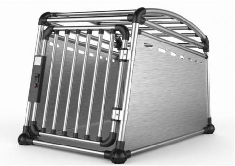 Transportēšanas bokss - Aluminum Travel Crate L, 63 x 67,5 x 88 cm title=
