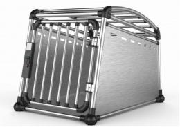 Transportēšanas bokss - Aluminum Travel Crate L, 63 x 67,5 x 88 cm