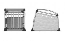 Транспортировочный бокс - Aluminum Travel Crate M, 52 x 64,5 x 77 см