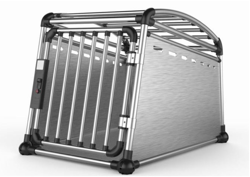 Transportēšanas bokss - Aluminum Travel Crate M