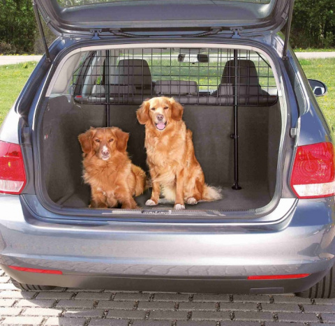 Metāla siets automašīnai - Car dog guard Trixie title=