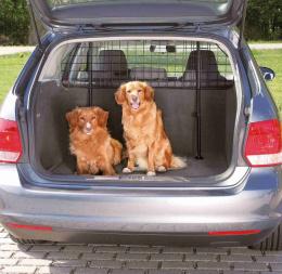 Metāla siets automašīnai - Car dog guard Trixie