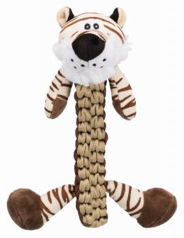 Rotaļlieta suņiem - Tiger, polyester, 32 cm