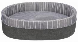 Guļvieta suņiem - Finley Bed, 75 x 65 cm, grey/white