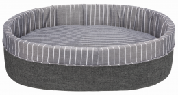 Guļvieta suņiem - Finley Bed, 95 x 85 cm, grey/white