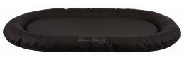 Guļvieta suņiem – TRIXIE Samoa Classic Cushion, 100 x 75 cm, Black