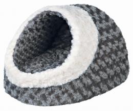 Guļvieta kaķiem - Kaline Cuddly Cave, grey/cream, 35*26*41 cm
