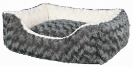 Guļvieta suņiem – TRIXIE Kaline Bed, 80 x 65 cm, Gray/Creme