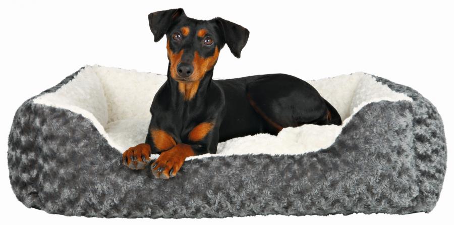 Спальное место для собак - Kaline Bed, 80*65 см, gray/creme