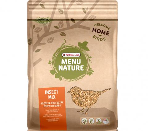 Barība savvaļas putniem - Menu Nature Insect Mix, 250 g