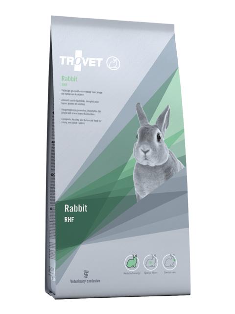 Корм для кроликов - Trovet RHF Rabbit, 5 kг