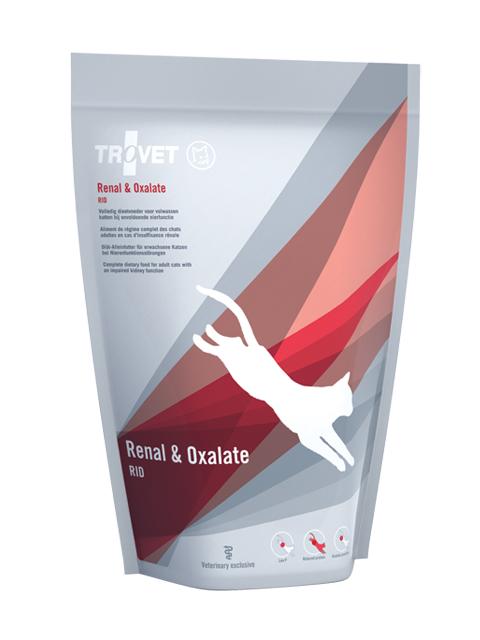 Veterinārā barība kaķiem - Trovet RID Renal & Oxalate, 500 g