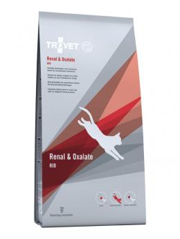 Veterinārā barība kaķiem - Trovet RID Renal and Oxalate, 3 kg