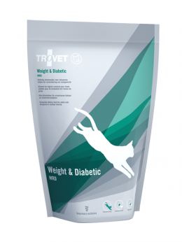 Veterinārā barība kaķiem - Trovet WRD Weight and Diabetic, 500 g
