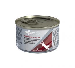 Veterinārie konservi kaķiem - Trovet TRD Hypoallergenic Turkey, 85 g