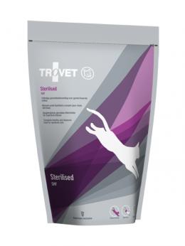 Veterinārā barība kaķiem - Trovet SHF Sterilised, 500 g