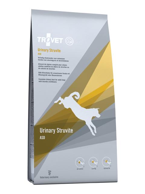 Veterinārā barība suņiem - Trovet ASD Urinary Struvite, 3 kg