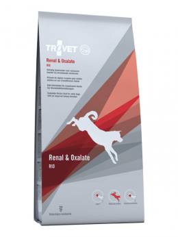 Ветеринарный корм для собак - Trovet RID Renal & Oxalate, 3 кг