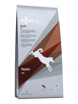 Veterinārā barība suņiem - Trovet HLD Hepatic, 3 kg