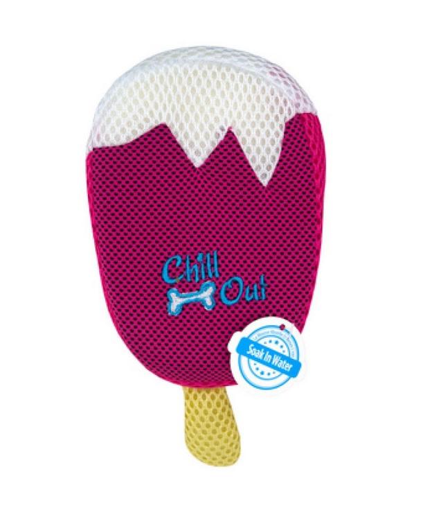Охлаждающая игрушка для собак - AFP Strawberry Ice Cream