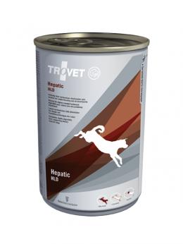 Veterinārie konservi suņiem - Trovet HLD Hepatic, 400 g