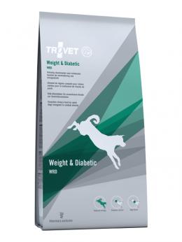 Ветеринарный корм для собак - Trovet WRD Weight and Diabetic, 3 кг