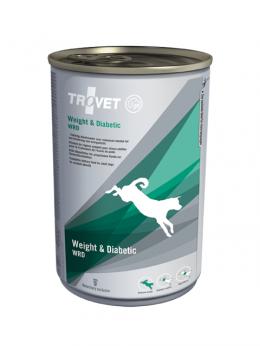 Veterinārie konservi suņiem - Trovet WRD Weight & Diabetic, 400 g