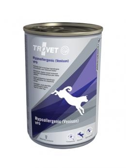 Veterinārie konservi suņiem - Trovet VPD Hypoallergenic Venison, 400 g