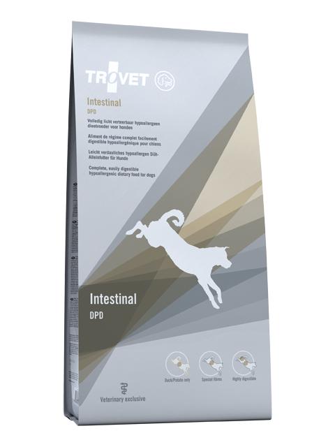 Ветеринарный корм для собак - Trovet DPD Intestinal, 3 кг