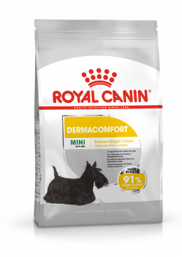 Корм для собак - Royal Canin Mini Dermacomfort, 3 кг