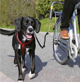 Поводок для велосипеда -  Biker Set Trixie