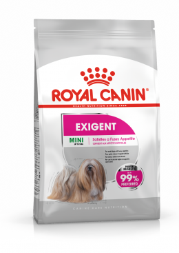 Корм для собак - Royal Canin Mini Exigent, 1 кг