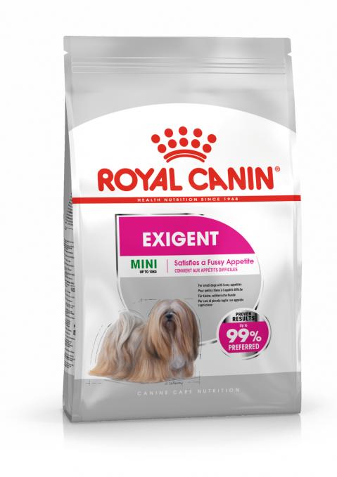 Корм для собак - Royal Canin Mini Exigent, 3 кг