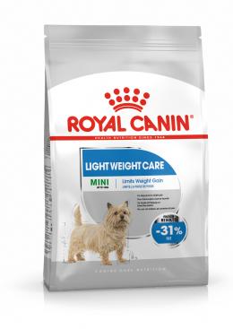 Barība suņiem - Royal Canin Mini Light Weight Care, 1 kg