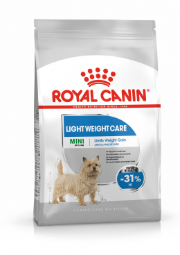 Корм для собак - Royal Canin Mini Light Weight Care, 1 кг