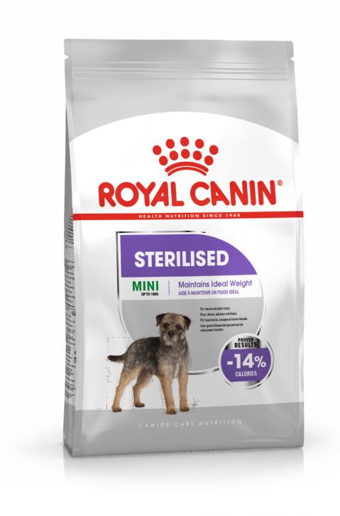 Barība suņiem - Royal Canin Mini Sterilised Adult, 8 kg title=