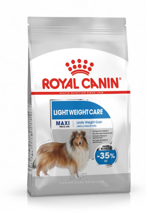 Корм для собак - Royal Canin Maxi Light Weight Care, 10 кг