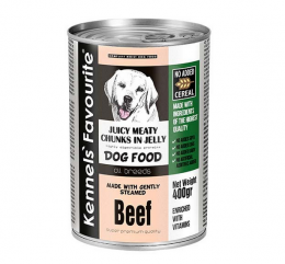 Konservi suņiem - Kennels` Favourite Canned Dog Beef, 1200 g