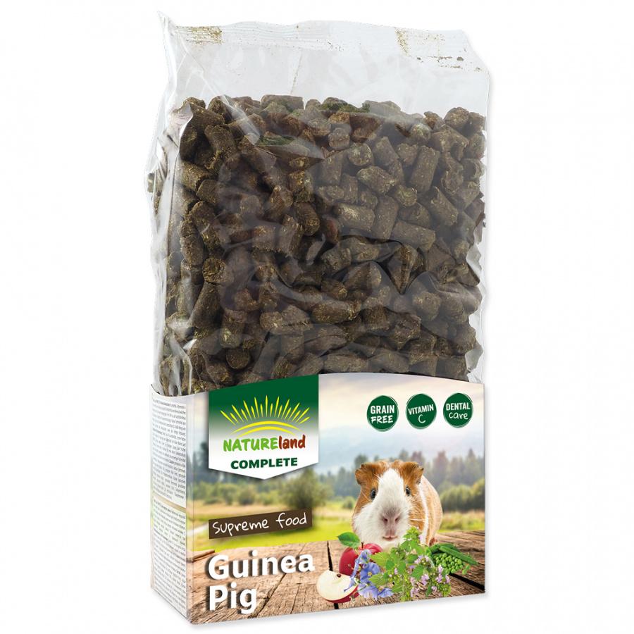 Корм для морских свинок - Nature Land Complete Food Giunea pig (mono), 900 г