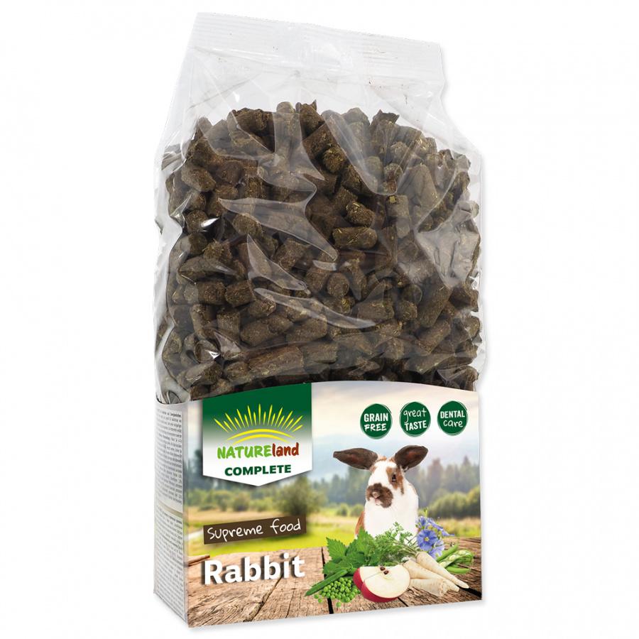 Корм для кроликов - Nature Land Complete Food Rabbit (mono), 900 г