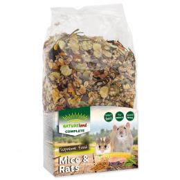 Barība žurkām un pelēm - Nature Land Complete Food Mice & Rats, 700 g