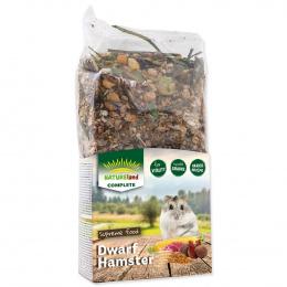 Barība pundurkāmjiem - Nature Land Complete Food Dwarf Hamster, 300 g