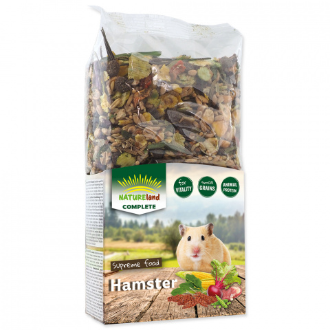 Корм для хомяков - Nature Land Complete Food Hamster, 300 г