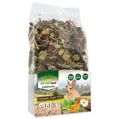 Корм для кроликов - Nature Land Complete Food Rabbit, 600 г title=