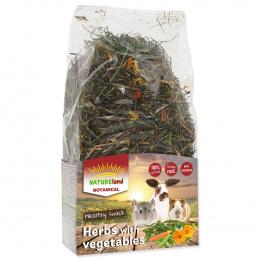 Siens grauzējiem - Nature Land Botanical Herbs Mix Vegetable, 125 g