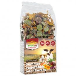 Дополнительный корм для грызунов - Nature Land Botanical Summer vegetable with flowers, 100 г