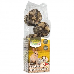 Лакомство для грызунов - Nature Land Brunch Grainfree Cookies Apple and Banana, 120 г