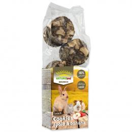 Papildbarība grauzējiem - Nature Land Brunch Grainfree Cookies Apple and Banana, 120 g