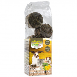 Лакомство для грызунов - Nature Land Brunch Grainfree Cookies Dandelion and Parsley, 120 г