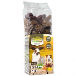 Gardums grauzējiem - Nature Land Brunch Grainfree Hearts mix, 150 g